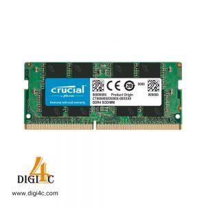 حافظه رم دسکتاپ کروشیال مدل Crucial 16GB DDR4 2666Mhz