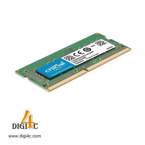 رم لپ تاپ کروشیال ظرفیت ۸ گیگابایت فرکانس ۲۴۰۰ مگاهرتز