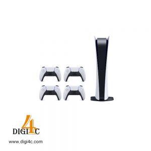 پلی استیشن ۵ دیجیتالی به همراه 3 دسته دوال سنس
