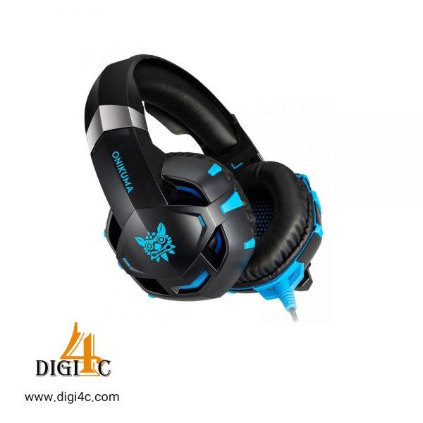 هدست طرح دار GAMING HEADSET ONIKUMA K2 PRO BLUE