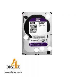 هارد اینترنال HDD 6TB WesternDigital Purple