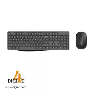 کیبورد و موس بی سیم HP CS10 Wireless Multi-Device Keyboard and Mouse Combo