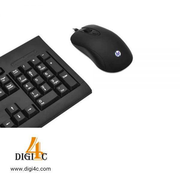 کیبورد و موس باسیم HP KM100 Wired Keyboard Mouse