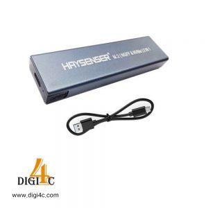 باکس تبدیل هارد Haysenser M.2 SATA SSD Enclosure
