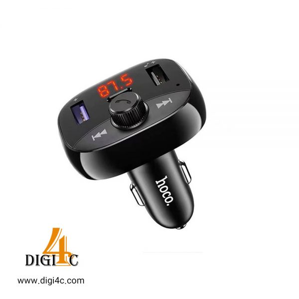 اف ام پلیر چند کاره (فست شارژر 20وات ،فلش،بلوتوث) Hoco DE2 Car Bluetooth FM Transmitter Charger PD 20W