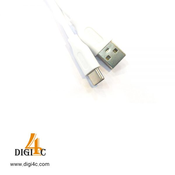 کابل Kh فست شارژ type c یک متری
