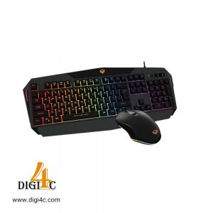 کیبورد و موس با سیم Rainbow Backlit Gaming Keyboard and Mouse C510