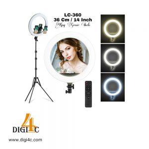 رینگ لایت عکاسی مدل Ring Fill Light LED LC-360