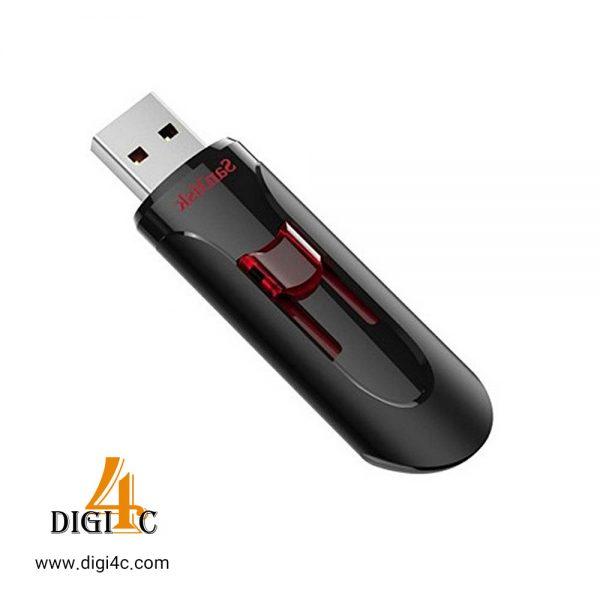 فلش سن دیسک Cruzer Glide CZ600 USB3.0 ظرفیت 64 گیگابایت