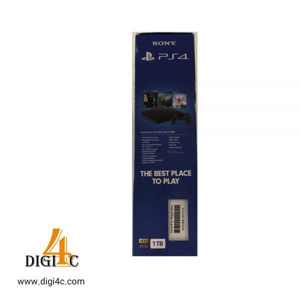 کنسول بازی سونی مدل ps4 کد CUH-2216 slim Region 2 - ظرفیت 1 ترابایت همراه 3 بازی