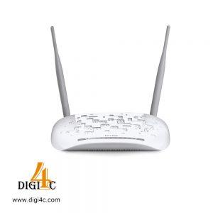 مودم روتر +VDSL/ADSL2 بیسیم N300 تی پی لینک مدل TD-W9970
