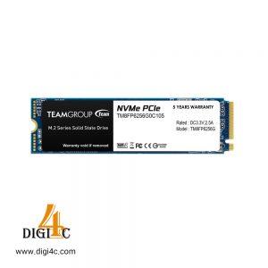 حافظه SSD اینترنال 256 گیگابایت تیم گروپ مدل TM8FP6256G0C101