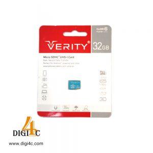 کارت حافظه verity وریتی ظرفیت 32گیگابایت