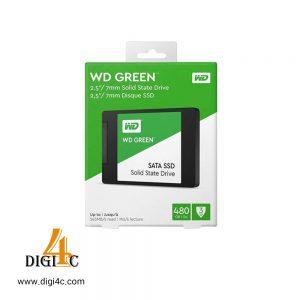 اس اس دی اینترنال وسترن دیجیتال مدل Green WDS240G2G0A ظرفیت ۴۸۰ گیگابایت