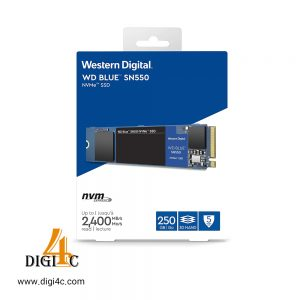 هارد اس اس دی اینترنال Western Digital 250GB WD Blue SN550 NVMe Internal SSD WDS250G2B0C