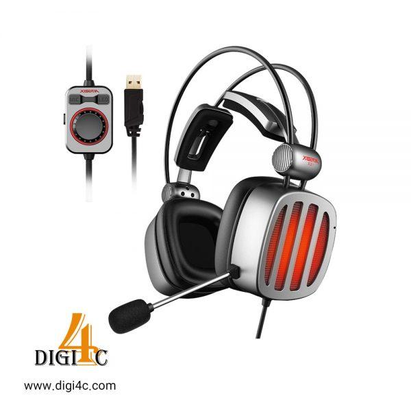 هدست گیمینگXIBERIA S21 USB Gaming Headset