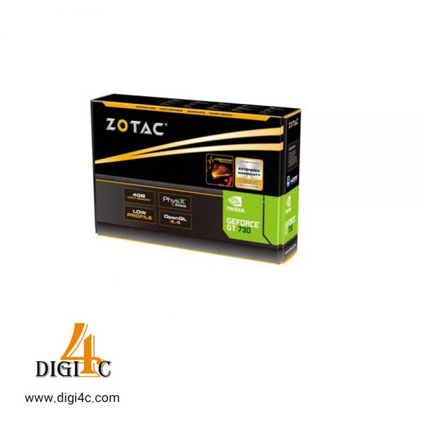 کارت گرافیک زوتاک مدل GeForce GT 730 Zone Edition 4GB DDR3