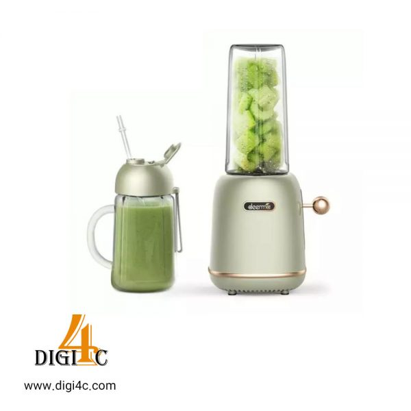 مخلوط کن میوه و سبزیجات deerma gz30 electric portable juicer fruit vegetable-juice mixer