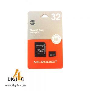 کارت حافظه میکرو microdigit 32gb class10