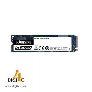 حافظه اس اس دی کینگستون A2000 250GB M.2 NVMe PCIe