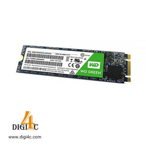 حافظه اس اس دی وسترن دیجیتال SSD M.2 WD Green ظرفیت 120 گیگابایت